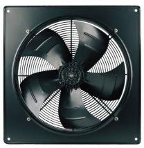 Вентилятор осевой YWF4E-450B с настенной панелью — Вентиляторы Weiguang